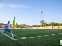 Новгородская футбольная команда одержала первую победу