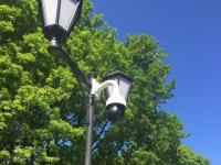 Новгородский бизнесмен за свой счет установил камеру видеонаблюдения в парке 30-летия Октября