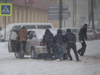 Снег и ветер по Новгородской области прогнозируются и на завтра