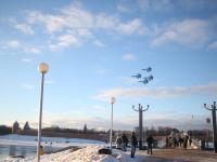Полеты «Соколов России» отменили, по Новгородской области дали штормовое предупреждение