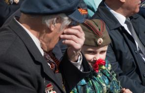 День  Победы  в  Великом Новгороде