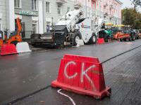 Завершить ремонт дорог в городе планируют к ноябрю