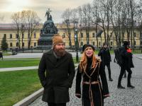 Актер из «Игры престолов» участвует в съемках фильма в Великом Новгороде
